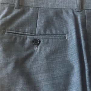 Sharkskin Wideleg Dress Pants 32L